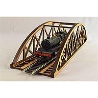 OoゲージSingle Track Bowstringブリッジ400 mm – モデルRailway MDF景色
