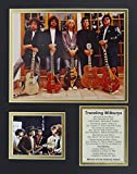 """Traveling Wilburys 11?"""" x 14?"""" Unframed Matted写真コラージュby Legends Never Die , Inc。"""