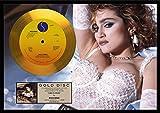 Madonna/マドンナ/ライク・ア・ヴァージン/ゴールドディスク 証明書付き [並行輸入品]
