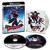 【Amazon.co.jp限定】スパイダーマン:スパイダーバース 4K ULTRA HD & ブルーレイセット(初回生産限定)(特典 スペシャル・ボーナスディスク付) [4K ULTRA HD + Blu-ray]