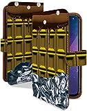 Galaxy S9 SC-02K ケース 手帳型 金 の チョコレート 風 ゴールド チョコ スイーツ スマホケース ギャラクシー エスナイン 手帳 カバー..