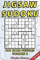Jigsaw Sudoku: 200 Hard Jigsaw Sudoku Puzzles Volume 2