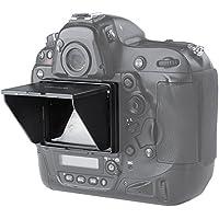 STSEETOP LCDスクリーンサンシールドフード 液晶保護フィルム モニター保護セミハードシート (Nikon, D4/D4S)