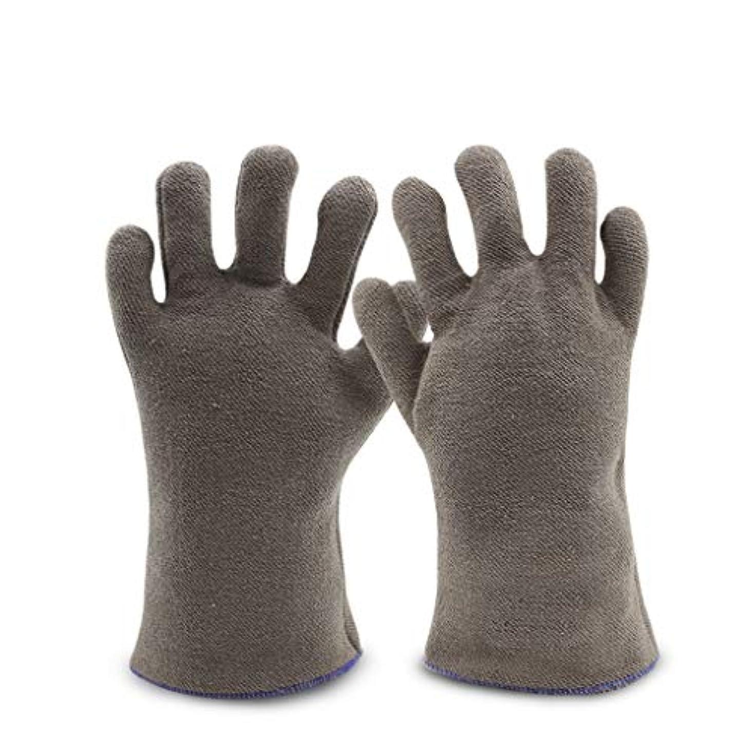 仲人ストラップ代表団溶接手袋、高温耐熱断熱難燃ガーデニング01