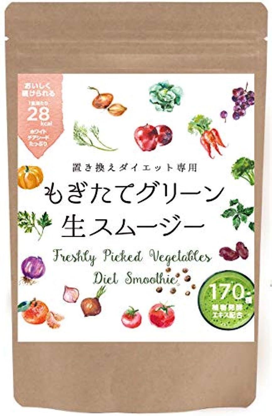 約自発的暴露紀州自然農園 置き換えダイエット専用 もぎたて 生スムージー 160g [32食] (グリーン)