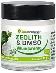 Biotraxxゼオライト - 13の強力な癒しのハーブを含むDMSO(ジメチルスルホキシド)クリーム。 抗菌および抗真菌作用 ドイツ製