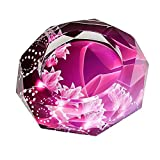 Gracave 灰皿【クリスタル ガラス ashtray】 10cm (pink)