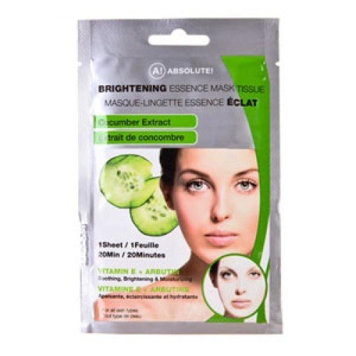 。以上無駄ABSOLUTE Brightening Essence Mask Cucumber (並行輸入品)