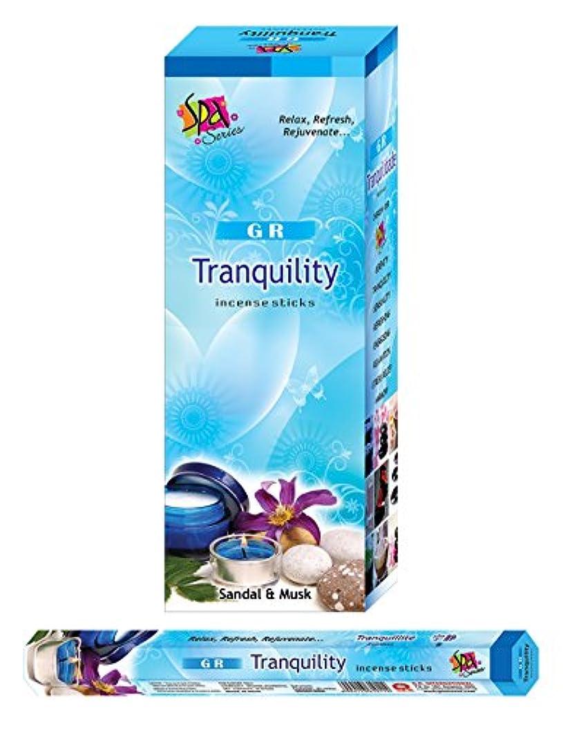 雨のブリッジできないTranquility incense-120 Sticks