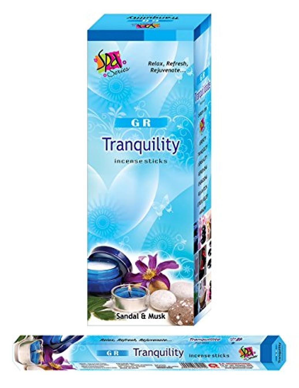 デッキ生きる欠席Tranquility incense-120 Sticks