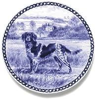 デンマーク製 ドッグ・プレート (犬の絵皿) 直輸入! Munsterlander - Large / ラージ・モンスターランダー