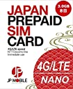 ✿JP Mobile プリペイドSIMカード ✿3.0GB高速モバイルデータ ✿8日間利用可能 (❖日本国内データ通信専用) ❖docomo LTEデータ通信高速体感 ⦿設定後すぐ使える ⦿SIMアダプターとSIMピン付き ⦿低速使い放題 ⦿データリチャージ可 利用期限延長可 ⦿積極的なカスタマーサポート✿Prepaid SIM card ✿3.0GB High Speed Mobile Data ✿8 Days Usage Period (❖Data-only SIM for usage within Japan) ❖Reliable Docomo LTE Mobile Network ⦿Immediate Use after Setup ⦿SIM Adapter and SIM Pin Included ⦿Unlimited Usage at Low Speed ⦿Data Recharge Possible, Usage Period Extension Possible ⦿Active Customer Support