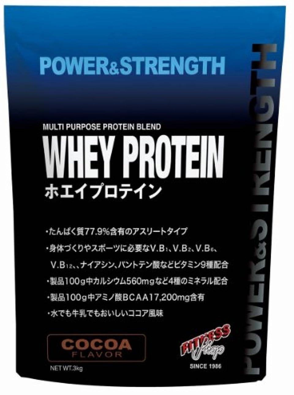 骨軽蔑数値POWER&STRENGTH ホエイプロテイン ミルク風味 3kg