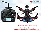 WALKERA RUNNER 250 アドバンス +DEVO7 セット(mode1) GPS付き ラジコン ヘリコプター ORI RC ラジコン ヘリコプター ワルケラ プロポ電波法国内認証済 日本語説明書付 (runner250ad-gps-m1)
