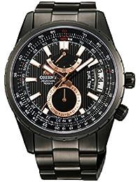 オリエント Orient Men's FDH01001B0 Voyager Analog Display Japanese Automatic Black Watch 男性 メンズ 腕時計 【並行輸入品】