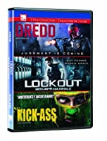 Dredd/Lockout/Kick-Ass Triple Feature【DVD】 [並行輸入品]