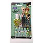 ディズニー水性ネイルセット/Frozen Fever アナと雪の女王 エルサのサプライズ [並行輸入品]
