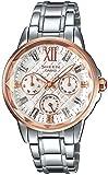 [カシオ]CASIO 腕時計 SHEEN スワロフスキー・クリスタルインデックス 国内メーカー保証1年付き SHE-3029SGJ-7AJF レディース