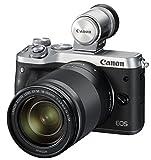 Canon ミラーレス一眼カメラ EOS M6 レンズEVFキット(シルバー) EF-M18-150mm F3.5-6.3 IS STM付属 EOSM6SL-18150ISEVFK