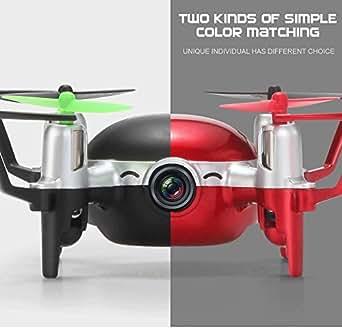 マトップ(MATOP) 小型ドローン カメラ付き ラジコン Drone マルチコプター H30C 4CH 2.4GHz 6軸ジャイロ 200W画素 高品質空撮 宙返り 高安定 室内 ラジコンヘリ 屋外もOK 2色 (赤)