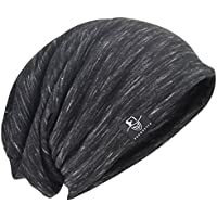 Men Slouch Hollow Beanie Thin Summer Cap Skullcap B083