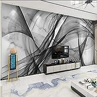Xbwy 注文の防水キャンバスの壁画壁紙現代3Dの抽象的なインクライン-150X120Cm