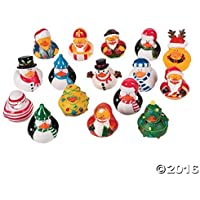 Christmas Holiday Rubber Ducky Assortment - 50 pcs [並行輸入品]