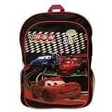 海外直輸入 カーズ 大人気 未発売 正規品 レア フィギュア フィギア 飛行機 クリスマス おもちゃ Disney Cars 2 World Grand Prix Large Backpack【JOY】