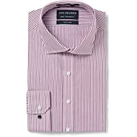 Van Heusen Men's Euro-Tailored Fit Stripe Business Shirt