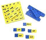 ETA hand2mind Reading Rods–初期Consonant文字とWord Families Linking Cubes
