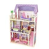 [キッドクラフト]KidKraft Kayla Dollhouse + 10 Pieces of Furniture 65092 [並行輸入品]