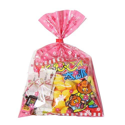 花柄袋 350円 お菓子 チョコレート 詰め合わせ(Gセット) 駄菓子 袋詰め おかしのマーチ