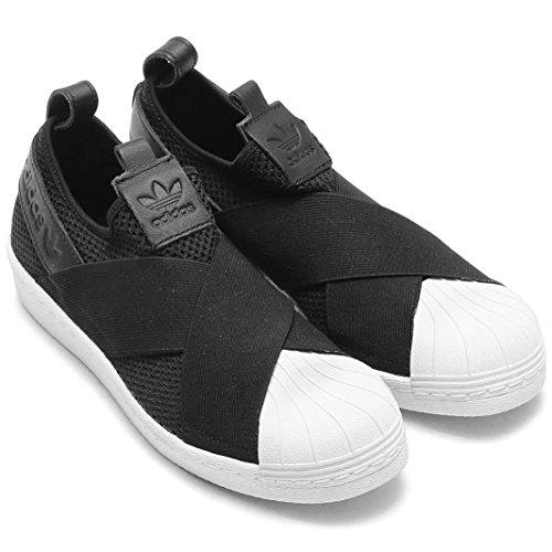 日本国内正規品 adidas アディダス オリジナルス スリッポン [SS SlipOn W] ブラック/ブラック/ホワイト BY2884 23.5cm