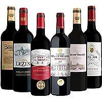 【Amazon限定ブランド】すべて金賞ボルドー! コスパ良すぎる飲み比べ赤ワイン6本セット(赤750mlx6) [フラン…