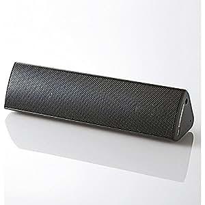 エレコム Bluetoothステレオスピーカー(ブラック)ELECOM LBT-SPP310AVシリーズ LBT-SPP310AVBK