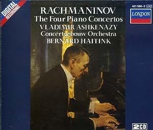 Rachmaninov: The 4 Piano Concertos