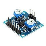 デジタルアンプモジュール,SODIAL(R) ミニデジタルアンプ基板対基板オーディオスピーカーアンプモジュールアンプモジュール ノイズなし 5W * 2