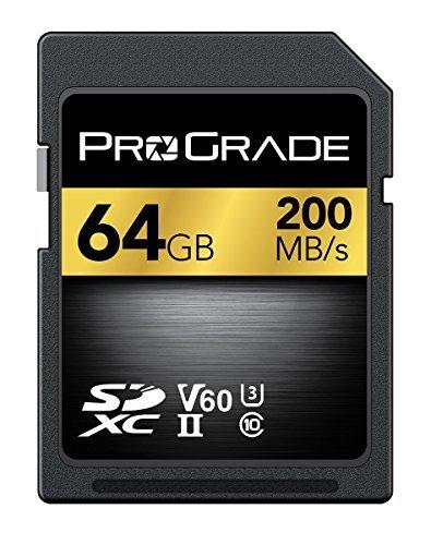 ProGrade Digital(プログレードデジタル) SDXC UHS-II V60 メモリーカード 64GB