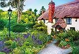 300ピースジグソーパズル 世界の美しい庭園 コテージの午後(26x38cm)
