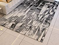シルクカーペット長方形モダンミニマリスト個性抽象的なベッドルームベッドサイドカーペット北欧ソファコーヒーテーブルカーペット ズトイビー (Color : #3)