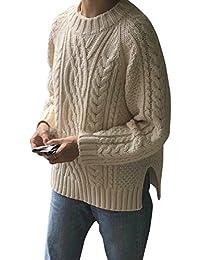 (S.W.グロッシィ) S.W.Grossy レディース やわらかい おしゃれ 編み込みニット セーター