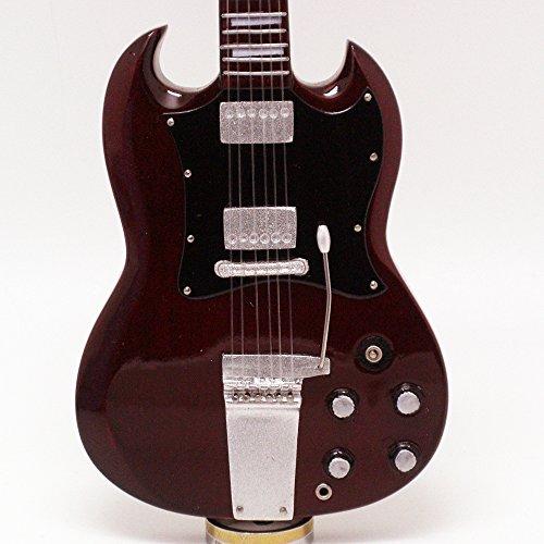 [해외][Musical Story] 미니 기타 A.C.D.C. 앵거스 영 SG 스타일/[Musical Story] Miniature Guitar A. C. D. C. Angus Young SG Style