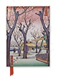Hiroshige's Plum Garden Foiled Journal (Flame Tree Notebooks)