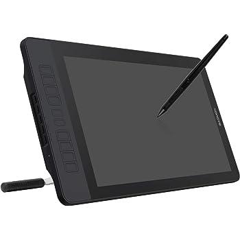 GAOMON 15.6インチIPS液晶ペンタブ 10個ショートカットキー 8192レベル充電ペンとスタンド付き液タブPD1560