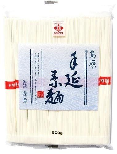 ヒガシフーズ 手延素麺 500g
