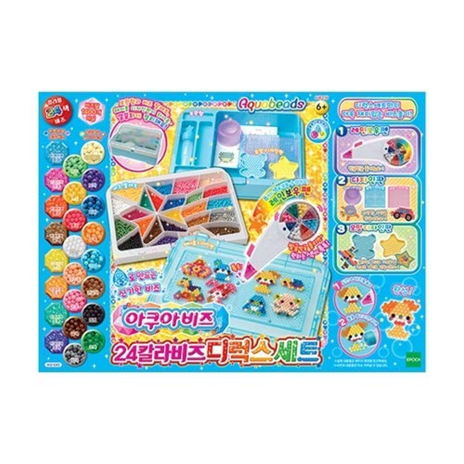 Toytron Aquabeads 24 Colors Beads Deluxe Set 子供のおもちゃ [並行輸入品]