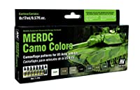 US Army Vehicles MERDC迷彩色モデルAirペイントセット( 8色)