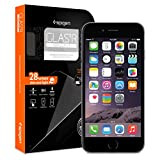 iPhone 6 ガラス フィルム, Spigen® iPhone 6 4.7 強化ガラス  [GLAS.tR SLIM] (0.4mm) Rラウンド 加工 (iphone6, Glas.t R [SLIM]) 【SGP10932】