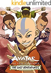 Avatar: The Last Airbender The Lost Adventures Comics Book Nickelodeon Avatar (English Edition)