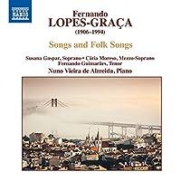 ロペス=グラサ:歌と民謡集